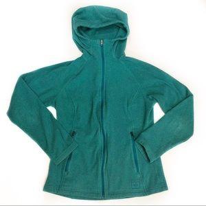 REI Zip Front Fleece Jacket Womens Size XS Hooded
